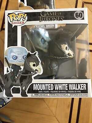 Funko Pop! Rides Game of Thrones Mounted White Walker Vinyl Figure #60