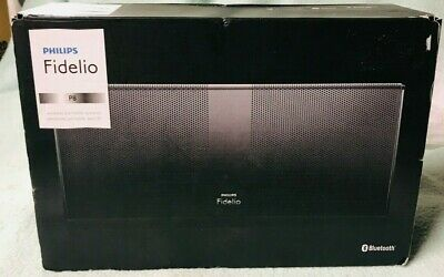Philips Fidelio P8 Wireless Portable Bluetooth Speaker P8blk/37 V2