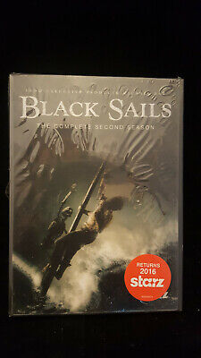 Black Sails: The Complete Second Season (DVD, 2015)