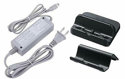 AWchip Power AC Charger Adapter for Nintendo Wii U GamePad With Black Cradle