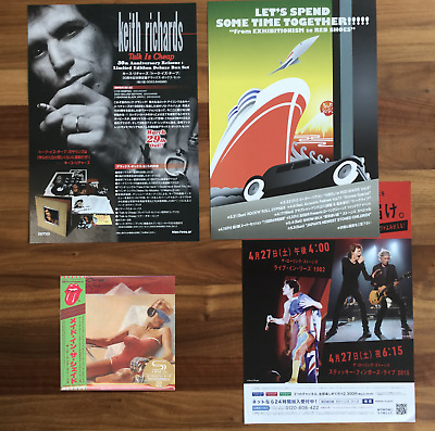 """JAPAN ONLY SHM-CD MINI-LP + 3x FLYERS! ROLLING STONES """"MADE IN THE SHADE"""" 2019"""