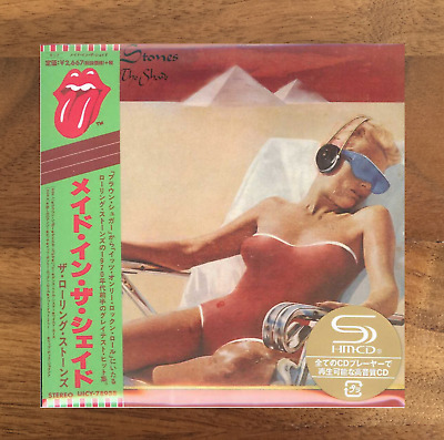 JAPAN ONLY SHM-CD MINI-LP SENTfrom BERLIN! ROLLING STONES MADE IN THE SHADE 2019