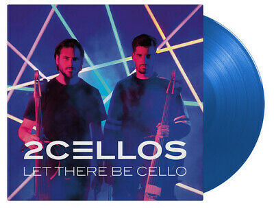 2CELLOS - LET There Be Cello [New Vinyl] Blue, Gatefold LP Jacket