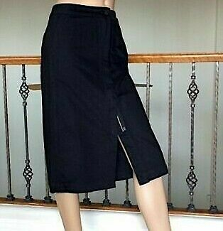793a511af0 UNIQLO U LEMAIRE Cotton Midi Skirt in Denim Size 2 and 10 NWT ...