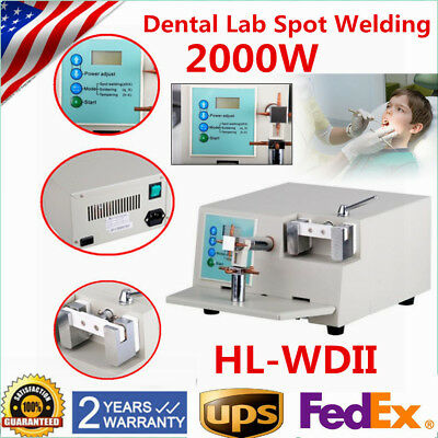 HL-WD2 Dental Lab Spot Welding Orthodontic Braze Repair Heat Treatment Machine