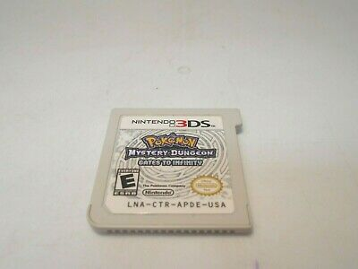 Pokemon Mystery Dungeon: Gates to Infinity (Nintendo 3DS) game 2ds xl