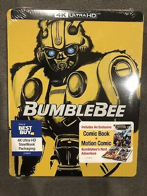 Bumblebee Best Buy Exclusive 4K Ultra HD Blu-ray Steelbook (NEW)