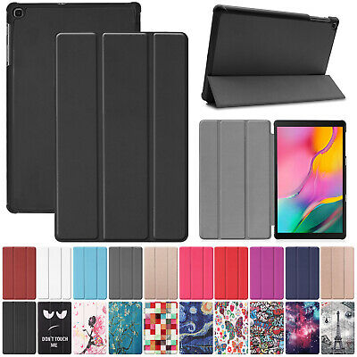 For Samsung Tab A 10.1 2019 SM-T510 T515 Case Smart Magnetic Leather Stand Cover