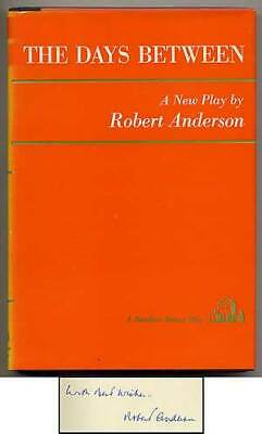 Robert ANDERSON / The Days Between Signed 1st Edition 1965