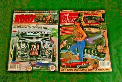Mixed Lot of 2 Hot Rod Magazines 2019 Brand New Free Shipping