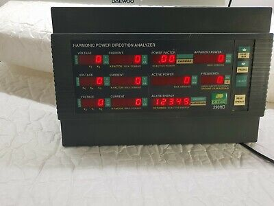 Powermeter and Harmonic Analyzer 290HD-L SATEC harmonic measurements TESTED
