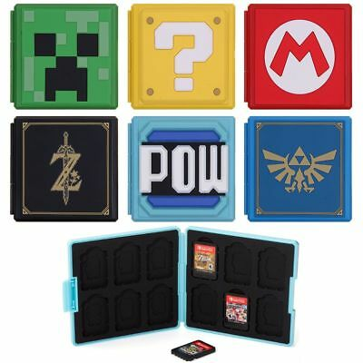 12 in 1 Memory Game Card Holder Case Box Organizer For Nintendo Switch