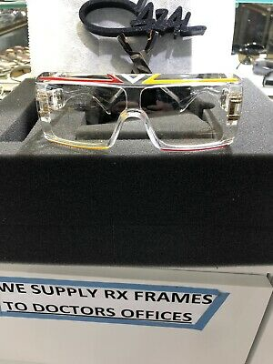 77314b8006ee Vintage CAZAL Iconic Signature Collectors Multi Colored Frame Tinted Clear