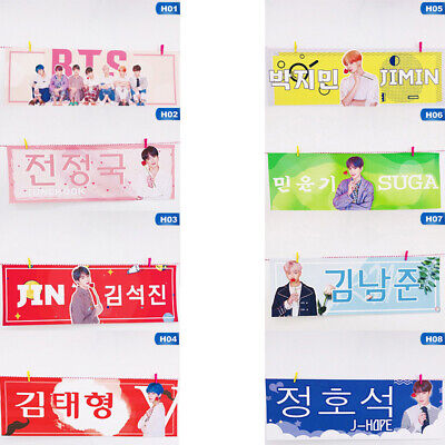 Responsible Kpop Bts Love Yourself Concert Airport Fabric Banner Bangtan Boys Suga Jimin Jungkook Hang Up Poster Jewelry & Accessories Jewelry Findings & Components