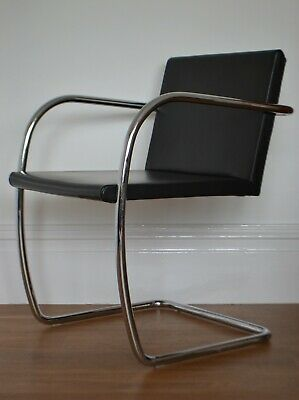 GENUINE MIES VAN DER ROHE BRNO CHAIR FOR KNOLL STUDIO - 4 available