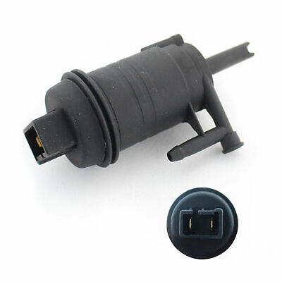 Windscreen Washer Pump Front Single Outlet For Renault Trafic Vauxhall Vivaro