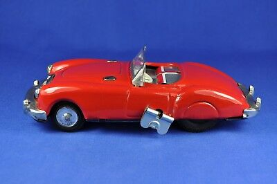 Blechauto / Tin Model Car: Sanshin MG Cabriolet, Japan, ca. 1960er / 1960ies