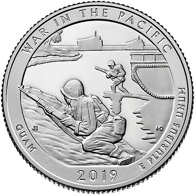 2019 D War In The Pacific National Park (Guam) Quarter