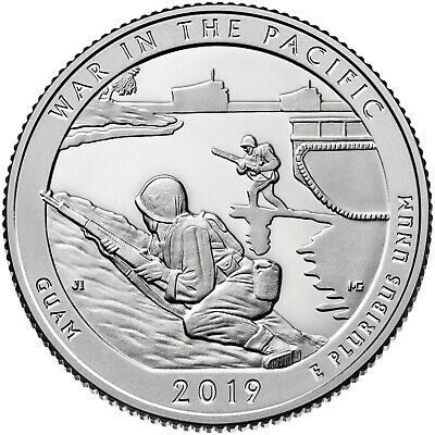2019 S War In The Pacific National Park (Guam) Quarter