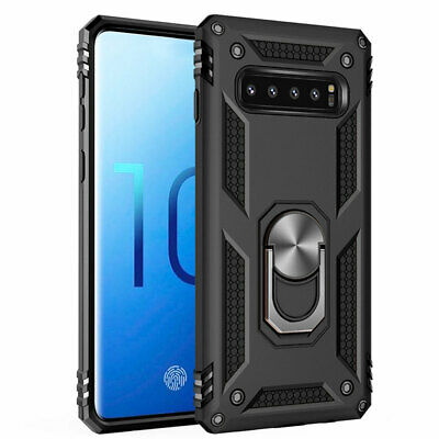 Hybrid Military Armor Case for Samsung Galaxy S8 S9 S10Plus Magnetic Stand Cover