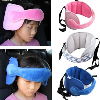 Child Adjustable Car Seat Head Support  Neck Safety Protector Belt Sleep Pillows