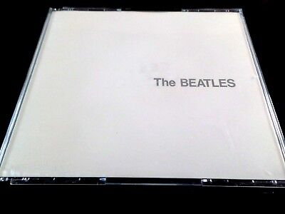 THE BEATLES  -  THE WHITE ALBUM  2 x CD  FATBOX CASE WITH BOOKLET   EX/NM