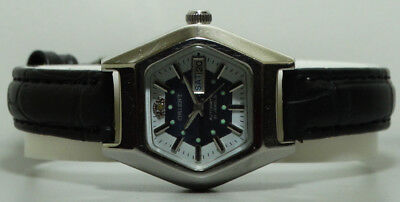 Vintage Orient Automatic Day Date Mens Wrist Watch k60 Old Used Antique