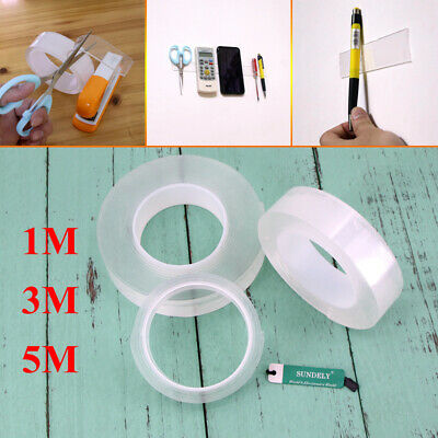 Magic Multifunctional Double-Sided Adhesive Tape Traceless Washable Removable AU