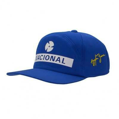 Ayrton Senna Collection Original Replica Nacional Cap F1 Blue ADULT