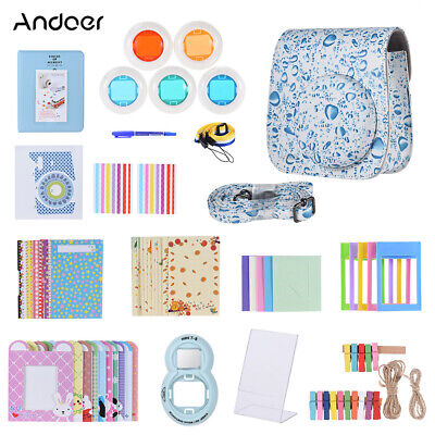 Andoer 14 in 1 Accessories Bundle for Fujifilm Instax Mini 8/8+/8s/9 with Q9W3