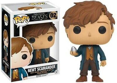 Fantastic Beasts - Newt with Egg - Funko Pop! Movies (2016, Toy NUEVO)