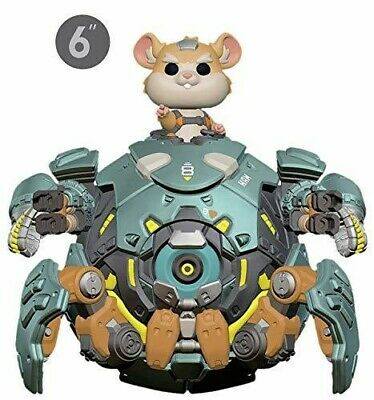 Overwatch - Wrecking Ball 6 - Funko Pop! Games: (2019, Toy NUEVO)
