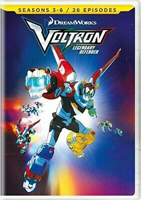 PRE-ORDER Voltron: Legendary Defender - Seasons 3-6 (DVD RELEASE: 04 Jun 2019)