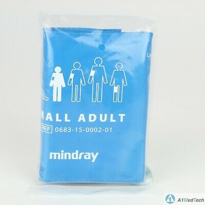 """Mindray Reusable Small Adult Blood Pressure Cuff 0683-15-0002-01 """"New"""""""