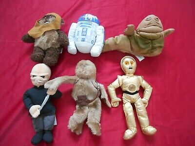 Star Wars Plush Buddies lot of 6 1997 No Tags