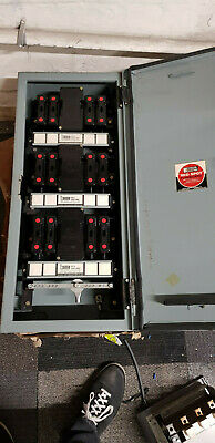 30 Amp Red spot Fuseboard Distribution Box 4 Way - Rust On Cover