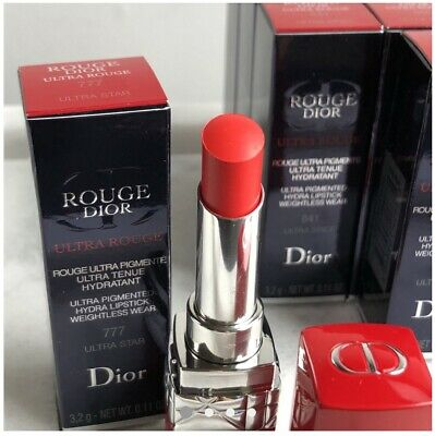 Rouge Dior Ultra Rouge Lipstick 660 Ultra Atomic Brand New Boxed