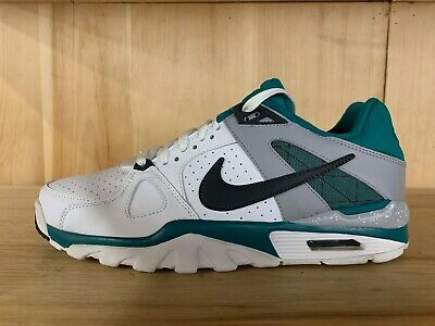 online retailer ca961 0f3a4 Nike Air Trainer Classic White Grey Training Shoes Mens Size 10.5 488059-100