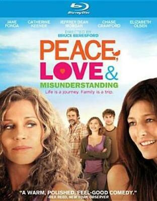 PEACE LOVE & MISUNDERSTANDING (Region A BluRay,US Import,sealed.)