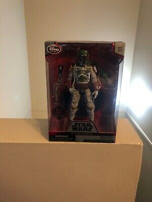 Star Wars Elite Series Boba Fett Exclusive 7.5-Inch Diecast Figure Never Opened!