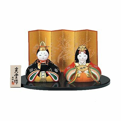 From Japan Japanese Hina Doll Ornament Girl's Festival