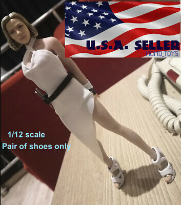"""1/12 Scale High Heels Shoes For 6"""" PHICEN TBLeague T01 Female Figure Doll ❶USA❶"""