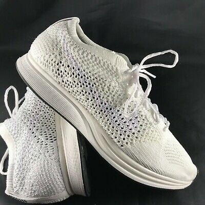 new product 2d7c5 12e8f Nike Flyknit Débardeur HOMME Chaussures Blanches Voile Platine 526628 100  Pdsf