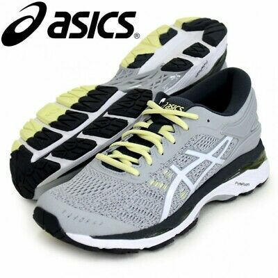 huge discount 9b940 4b6c9 NEW ASICS Running Shoes LADY GEL-KAYANO24 TJG758 Soft Gray With Tracking