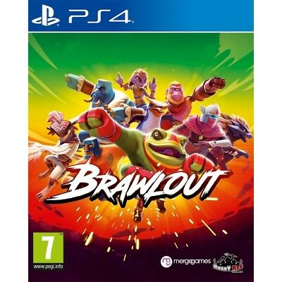 Brawlout PS4 PlayStation 4 Game PAL Version New & Sealed Aussie Seller In Stock