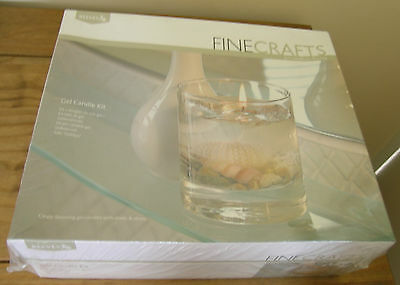 Reeves..gel Candle Making Kit..new Sealed