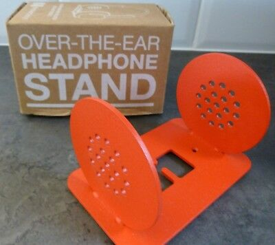 Heckler Design..red Steel Headphone Stand..boxed