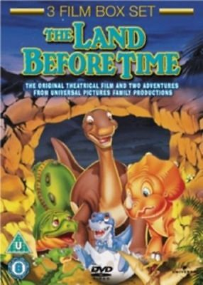 The Land Before Time 1 2 3 One Two Three (Pat Hingle)  DVD Box Set New In Stock