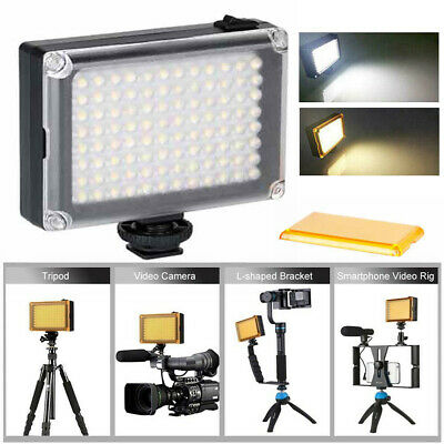 3200K/5400K LED Video Light Lamp Photo Studio Wedding Party for DSLR Camera BS