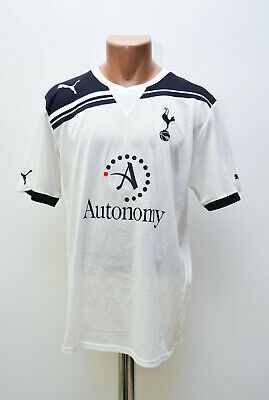 Tottenham Hotspur 2010/2011 Home Football Shirt Jersey Puma Size M Adult